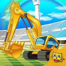 真实挖掘机修理店