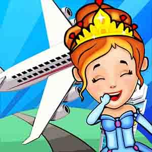 我的公主飞机场-迷你小镇机场旅行